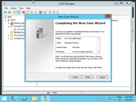 Dns Server Lookup Windows Server 2012 R2 Dns Server Add Lookup Zone Server World