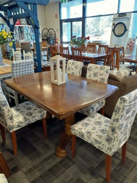 large antique extension table   chairs dining tables