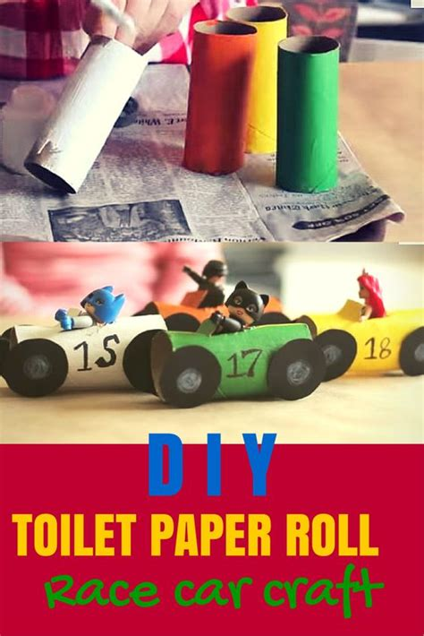 Toilet Paper Roll Car Craft - the world s catalog of ideas