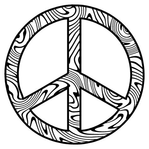 Coloring Pages Coloring Pages Peace Signs Peace Sign Peace Mandala Coloring Pages