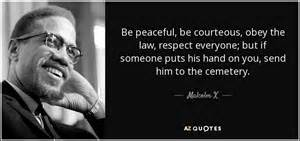 Amiri King Criminal Record Malcolm X Quote Be Peaceful Be Courteous Obey The