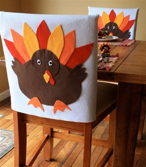 Thanksgiving Chair Covers by Turkey Chair Covers Decorations