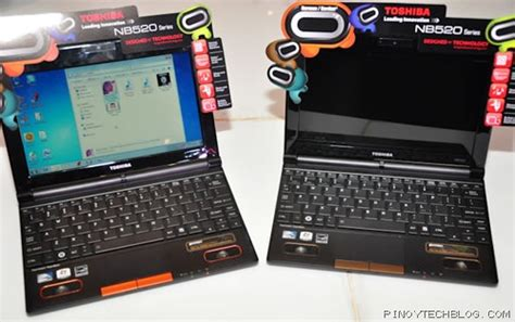toshiba intros nb520 series netbooks featuring harman kardon speakers tech