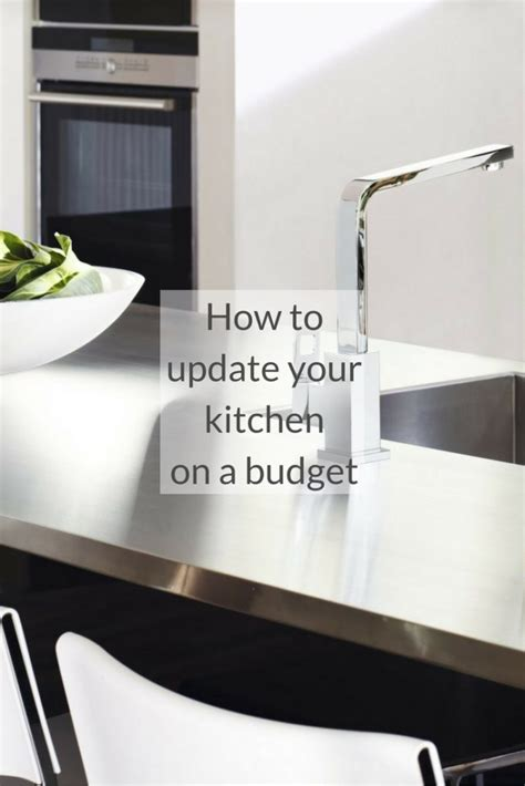 update your kitchen on a budget housetohome co uk top tips for a kitchen update growing family