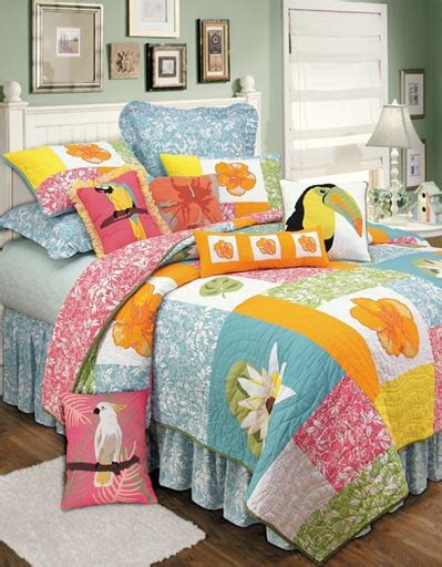 Hawaiian Bed Set Kahala Hawaiian Bedding Oceanstyles
