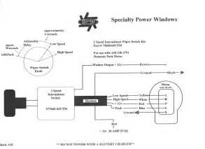 universal wiper switch wiring diagram