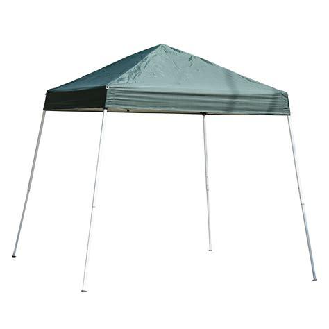 Gazebo Canopy Clearance Outsunny 10 X 10 Slant Leg Pop Up Canopy Tent Green