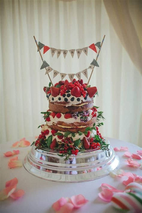 Victoria sponge wedding cake   Food y cosas ricas