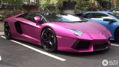 matte pink porsche lamborghini aventador lp760 2 oakley design 9 august
