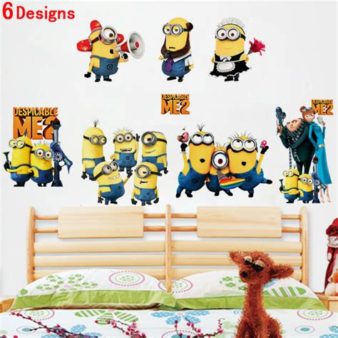 Wall Sticker Stiker Dinding As For Me My House We Will Serve The Lor saya tercela 2 minion decals zooyoo1404 diy stiker