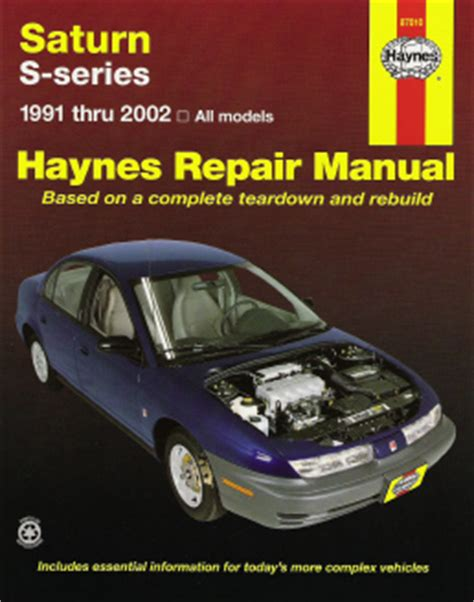 1991 2002 saturn sl sl1 sl2 sc sc1 sc2 sw1 2 haynes repair manual