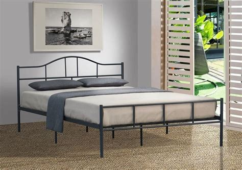 Cheap Size Bed Frames by Budget Cheap Jovy King Single King Size