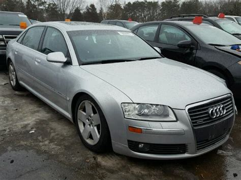 2006 Audi A8 For Sale by 2006 Audi A8 L Quattro For Sale At Copart Ham Lake Mn Lot