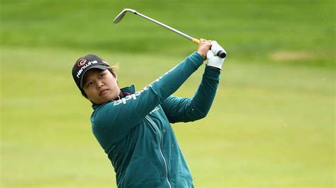 swinging h haru nomura holds 3 stroke lead through 36 holes at
