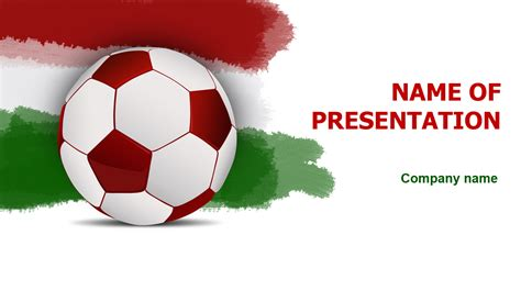 power point themes hungary download free hungary soccer players powerpoint theme for