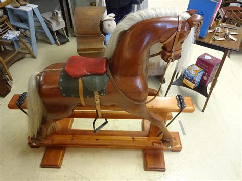 Handmade Rocking Horses Uk - vintage handmade rocking in beautiful things
