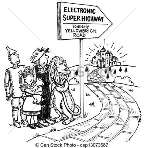 coloring pages of the yellow brick road pictures of the yellow brick road has changes names