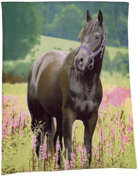 decke pferd foto polarfleece decke quot pferd auf wiese quot