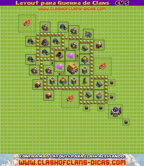 layout vila nivel 5 layouts para guerra de clans cv 5 clash of clans dicas