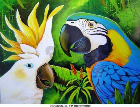 imagenes para dibujar en lienzo faciles guacamayas espartaco jhon rodriguez martinez artelista com