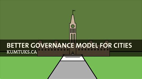 better governance vancouver better governance model for cities