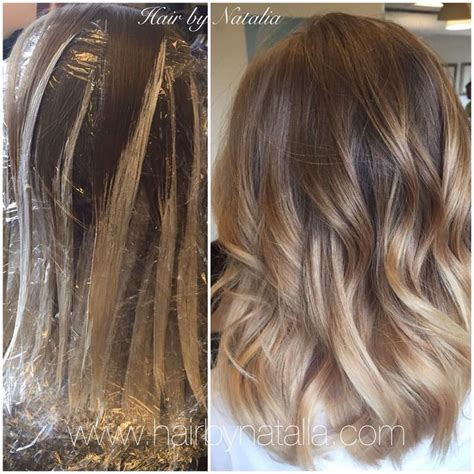 medium brown hair balayage pictures to pin on pinterest balayage hair painting on mid length hair balayage in