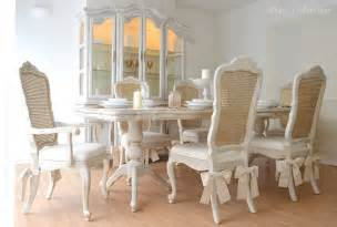 Shabby Chic Dining Table Chairs For Unique Beautiful Shabby Chic Dining Table Six Chairs