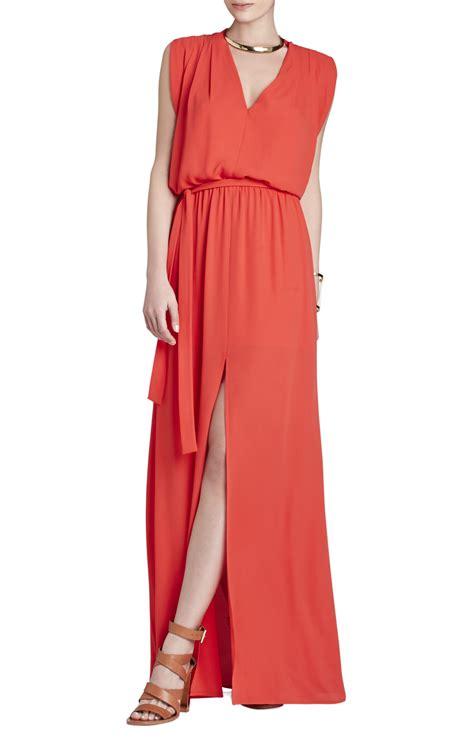 draped waist dress raymee sleeveless draped waist tie maxi dress