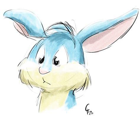 watercolor rabbit tutorial bunny watercolor weasyl