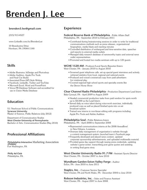 Languages On Resume by Sections Gra617 Page 258