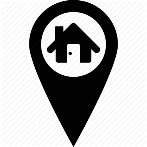 Property Pin Search By Address Address Home Location Map Pin Icon Icon Search Engine