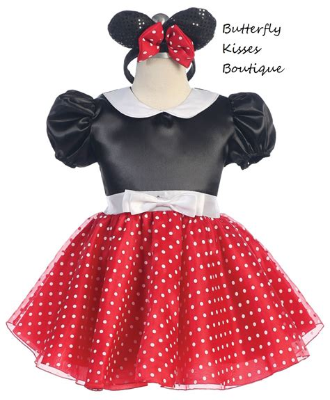 Minnie Mouse Toddler/Girls Costume on Storenvy