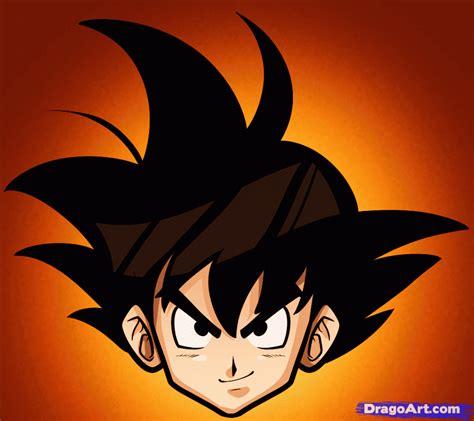 Drawing Goku by How To Draw Goku Easy Step By Step Z