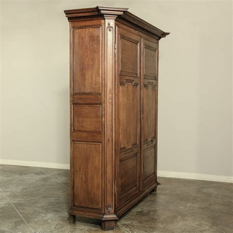 french country armoire wardrobe antique country french armoire at 1stdibs