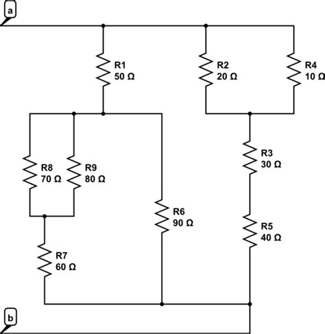 resistors in a circuit resistance series parallel resistor calculations electrical engineering stack exchange