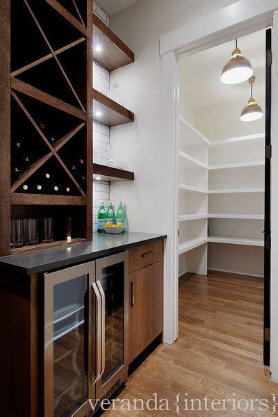 Pantry Area Design by Veranda Interiors Great Bar Butlers Pantry Area Stainless Steel Mini Bar Chocolate Brown