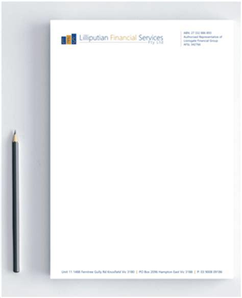 Au Finance Letterhead 28 Upmarket Financial Letterhead Designs For A Financial Business In Australia