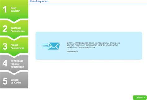 email verifikasi antrian paspor cara buat paspor online dan biaya bikin paspor terbaru