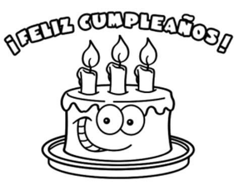 imagenes en blanco y negro de feliz cumpleaños dedicatorias y frases im 225 genes para colorear de cumplea 241 os