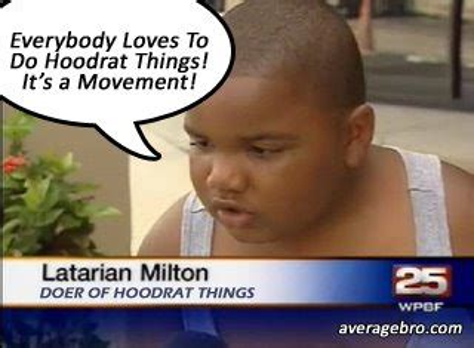 Hood Rat Meme - nappyheadedbros the hoodrat reportcard