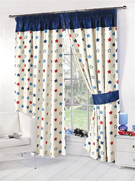 blackout curtains for boys kids childrens stars thermal blackout curtains boys girls
