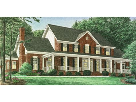 brick farmhouse plans hindmann southern farmhouse plan 025d 0059 house plans