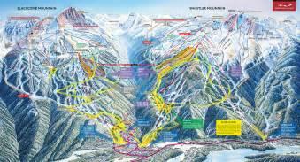 whistler canada on map whistler bc canada whistler blackcomb ski maps