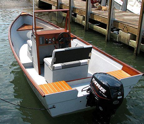 Home built boat: Console Skiff outboard fishing boat pic687 thumbnails