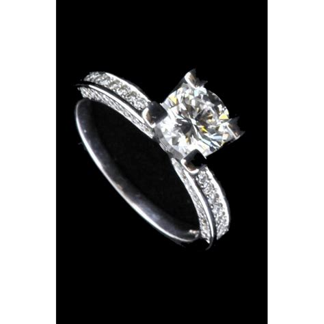 pre owned engagement ring second