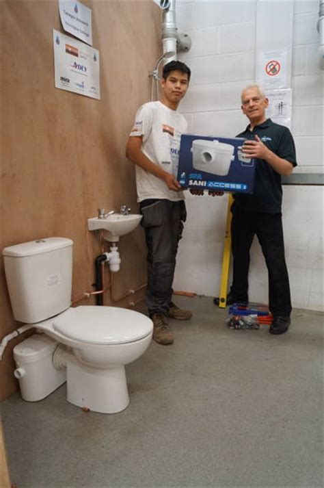 Plumbing Apprentiships by Saniflo Supports National Apprentice Competition The Kbzine