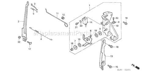 honda gc160 parts diagram honda gc160 parts list and diagram type qhaj vin gcah