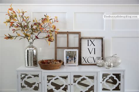 console table interior design mirrored console table ready for fall the sunny side