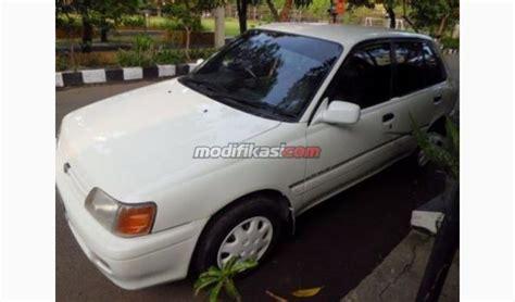 Alarm Mobil Starlet 1993 toyota starlet putih muluss