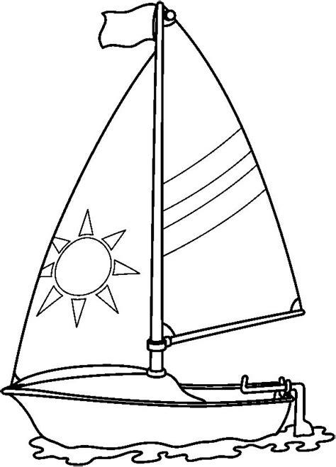 tipos de barcos para colorear velero dibujalia dibujos para colorear elementos y